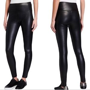 7 FOR ALL MANKIND | Faux Leather Jeggings Pants
